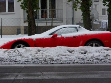 Cabrio im Winter