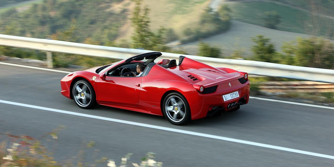 Auszeichnung Für Den Ferrari 458 Spider On Road Magazin
