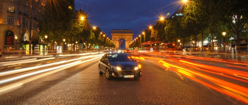 Triumphbogen in Paris