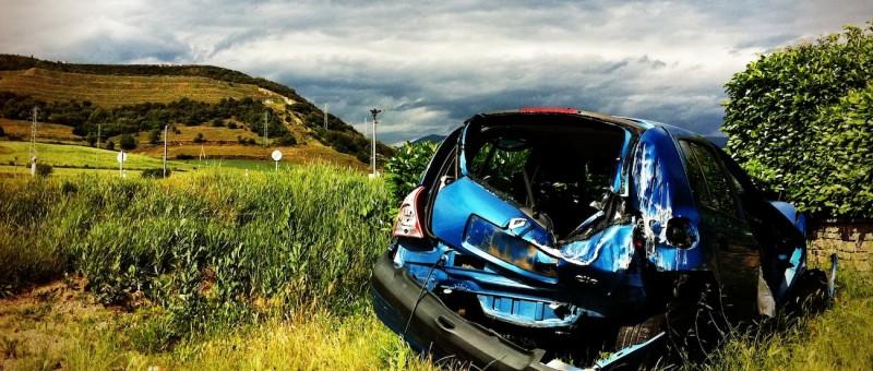 Versicherung bei Autounfall