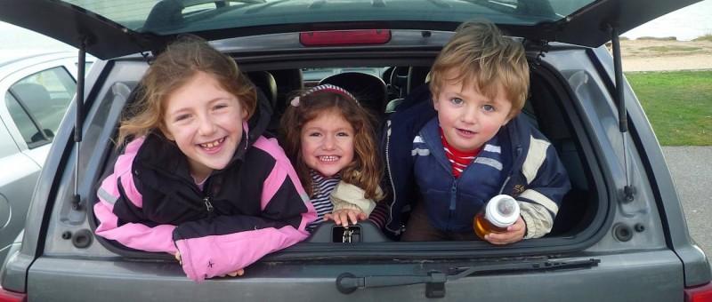 Autoreise mit Kindern
